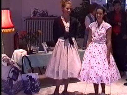 Rockabilly 50er Jahre - Screenshot Elvis-Festival 2000, Elvis-Archiv Bad Nauheim