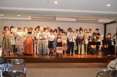 祝祭合唱(全体合唱)