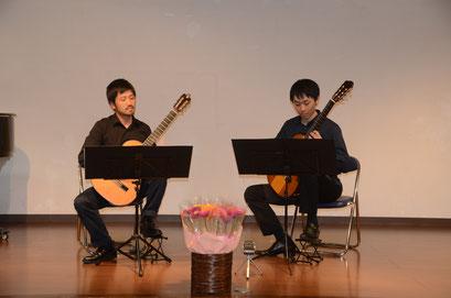 講師演奏 栗田和樹先生 山﨑拓郎先生