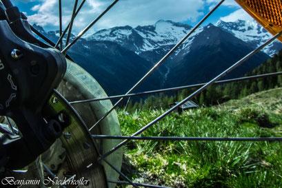 Mit dem Bike in die Südtiroler Berge