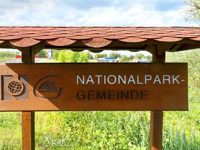 Bad Freienwalde - Hohensaaten, Nationalpark Gemeinde