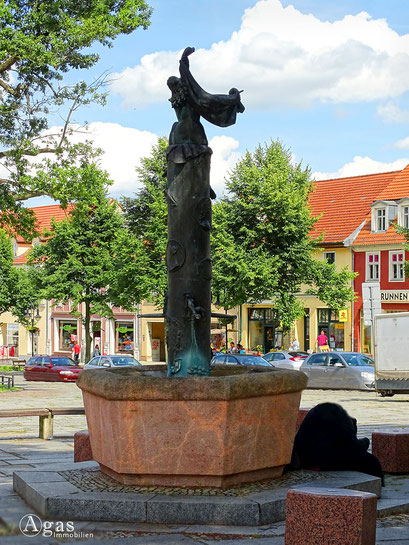 Bad Freienwalde - Marktbrunnen