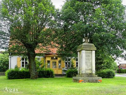 Bad Freienwalde - Hohensaaten, Gedenkstein