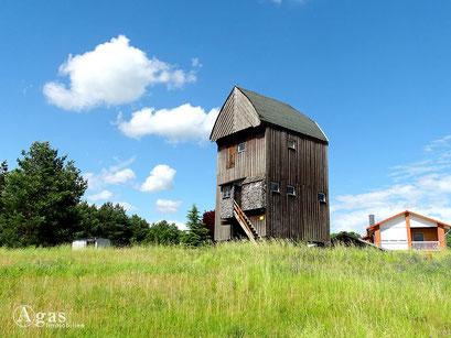 Bad Freienwalde - Hohensaaten, Alte Windmühle