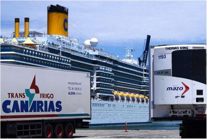 Hafen Cadiz, Spanien