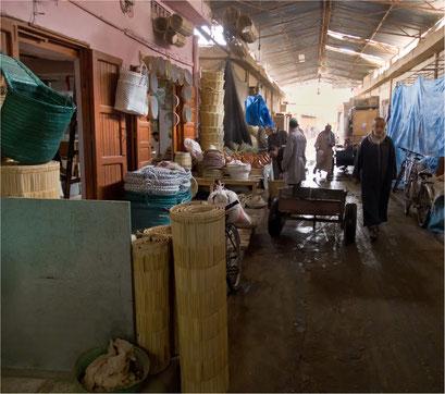 Souk in Taroudant, Marokko