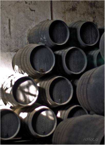Sherrykellerei Jerez, Andalusien