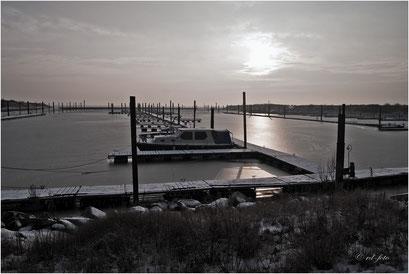 Insel Borkum im Winter 2010 / 2011