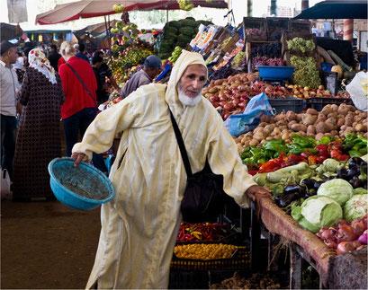 Souk Agadir, Marokko