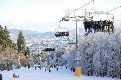 Winterberg - Skiliftkarusell in Winterberg