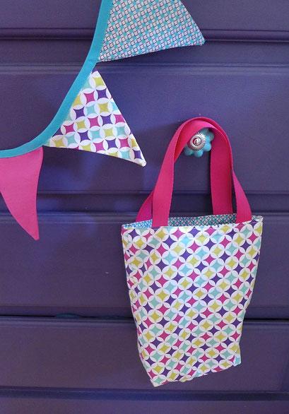 Petit sac et guirlande coordonnées sur mesure | Une Embellie