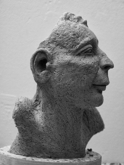 """""""Ich tu, als ob..."""", Keramik, 2015"""
