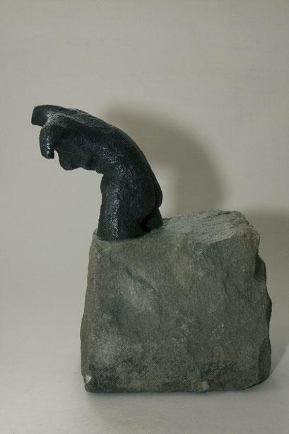 """""""Kurz vor dem Sprung"""", Bronze, 2011"""
