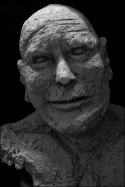 """Mein freund..."", Keramik, 2012"