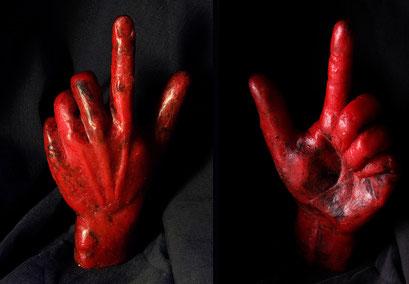 Wachs, Meine Hand, 2011