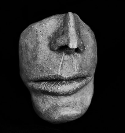 """Schweig still"" Keramik, 2011"