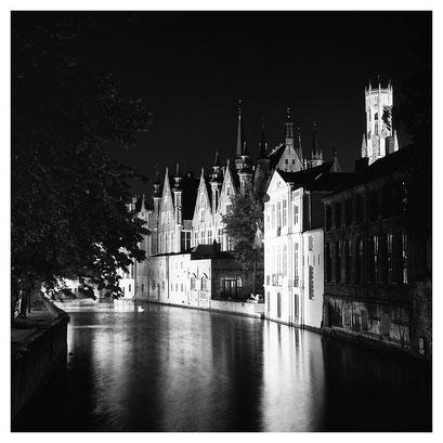 Brugge at night, Belgium 2011