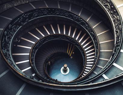 Scala a doppia spirale • Vatikan, Roma • Italy 2016