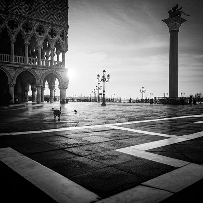 Piazzetta San Marco, Venice. Italy 2016