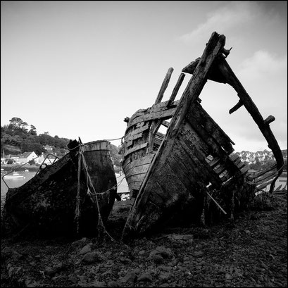 Ship graveyard I, Audierne, Bretagne 2010
