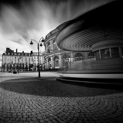 Place de la Mairie, Rennes. Bretagne 2014