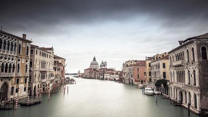 Canale Grande (color), Venice. Italy 2016