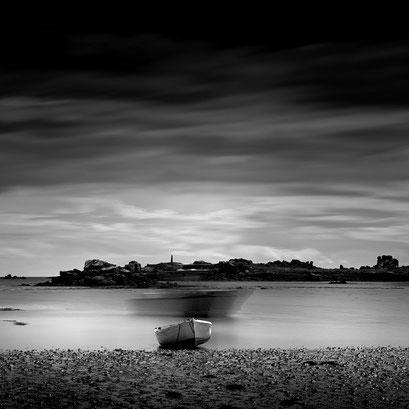 deux bateaux, Île de Bréhat. Bretagne 2014