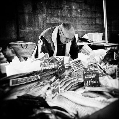 vendeurs de poissons, Morlaix 2010