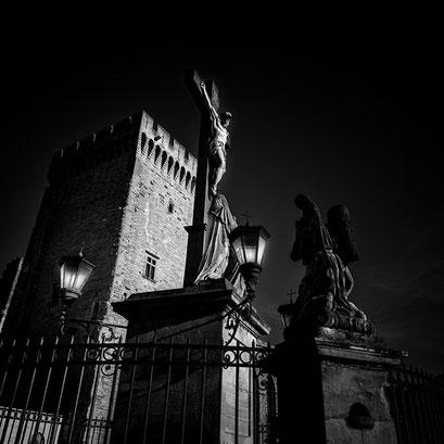 Cathédrale Notre-Dame des Doms d'Avignon, Avignon. Provence-Alpes-Côte d'Azur. France 2015