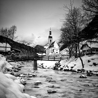 Ramsau Kirche, Bayern. Germnay 2015