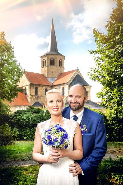 Hochzeitsfotos Paarshooting mit Simon Knösel. Der Hochzeitsfotograf in Hildesheim