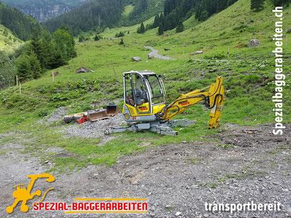 Spezial-Baggerarbeiten Adrian Krieg GmbH, Eschenbach Telefon 079 586 32 47 Aushub Erdverschiebung Geländemodulation Auffüllen Ausebnen