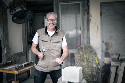 Beat Zobrist, Steinmetz und Unternehmer