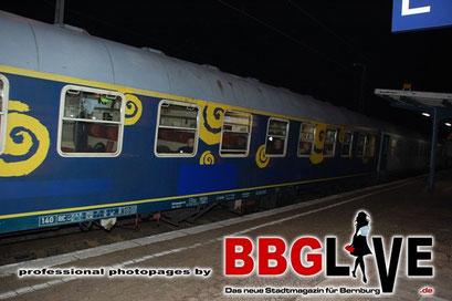 Castor-Transport durch Sachsen-Anhalt