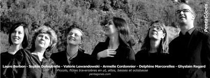 PentaGônes, sextuor de flûtes/Flute sextet