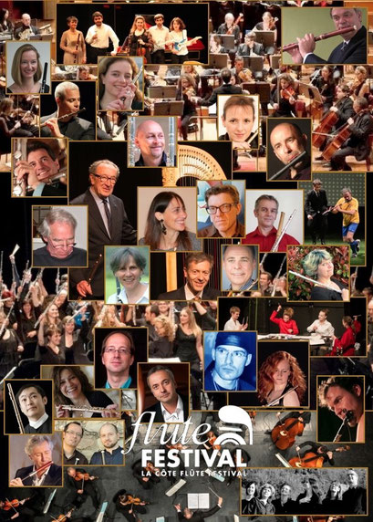 2015 La Côte Flute Festival, Suisse/Switzerland  : artistes invités/Invited artists
