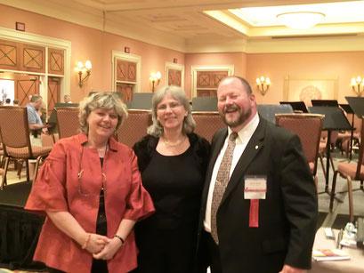 Avec/With Eva Amsler (Professor of Flute at Florida State University) and John Bailey (Larson Professor of Flute, University of Nebraska. Lincoln) NFA/LasVegas 2012