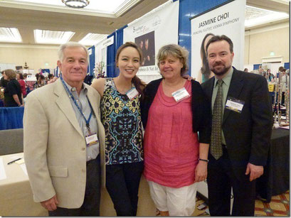 Avec/With David Straubinger, Jasmine Choi and Joël Straubinger (NFA/Las Vegas 2012)