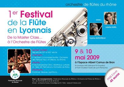 1rst flute festival in Lyon (2009)