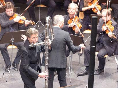 Aurore Concerto, creation : Matthias Ziegler, Philippe Bernold et l'OCG (Orchestre de Chambre de Genève)