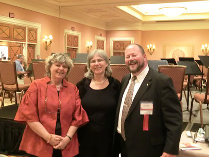 Avec/With Eva Amsler (Professor of Flute at Florida State University) and John Bailey (Larson Professor of Flute, University of Nebraska. Lincoln) NFA/LasVegas 2012