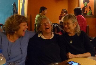Sophie Dufeutrelle, Eva Amsler, Ane-Katrin Graf (Cochabamba, Bolivie 2015)