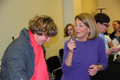 Avec/With Anne REYNOLDS (2011) professeur de flûte à l'Université DePaw (Indiana) / Flute teacher at DePaw University