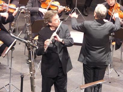 Aurore concerto, creation : Matthias Ziegler et Philippe Bernold - La Côte-Flute Festival 2014 (Suisse)