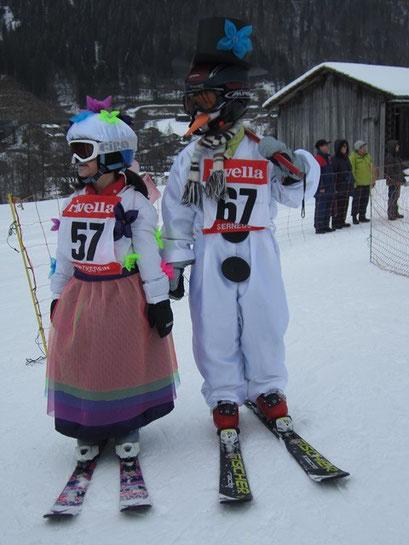 Lara Liesch und Luca Liesch-Schneemann
