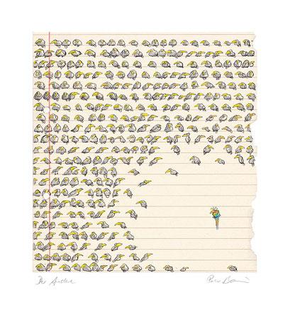 Peter Bauer, Rostock, Cartoon, »Der Andere«