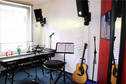 Raum für Gesangsunterricht
