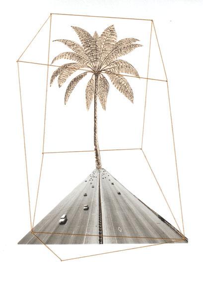 hinter der palme links abbiegen.  20212
