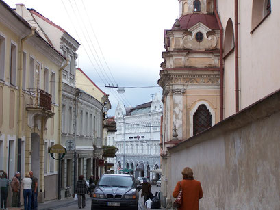 La capitale de la Lituanie, Vilnius
