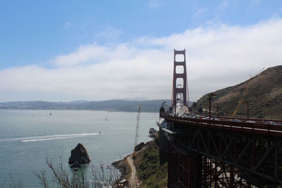 Le Pont de San Francisco, le Golden Gate Bridge